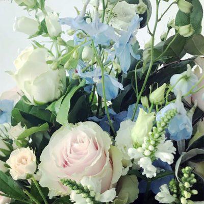 Seasonal hand-tied bouquet